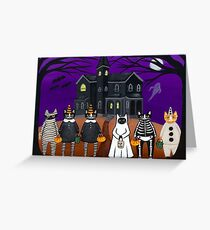 The Haunted House Greeting Card