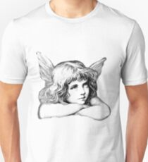 Christmas Angel. Angels We Have Heard On High Singing The First Noel. Unisex T-Shirt