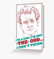 GROUNDHOG DAY - Phil Connors Greeting Card