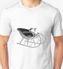Sleigh Ride! Giddy up, giddy up, giddy up, Let's Go! Unisex T-Shirt
