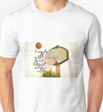 I can do all things Philippians 4 Unisex T-Shirt