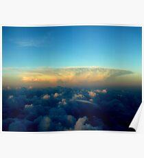 Distance Cloud Bloom Poster