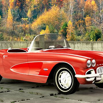 1961 Corvette by Skyviper