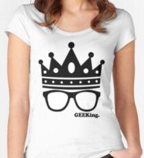 GEEKing Women's Fitted Scoop T-Shirt