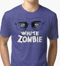 Walter White Zombie Tri-blend T-Shirt