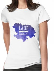 The Land of the Present - no. 1 Womens Fitted T-Shirt