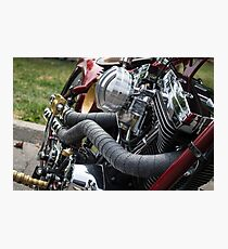 Two wheels. Photographic Print