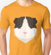Black and White Guinea Pig Unisex T-Shirt