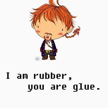 I am rubber by giugiu