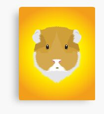 Brown Guinea Pigs Canvas Print