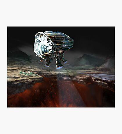 Fissure: Earth 2060 Photographic Print