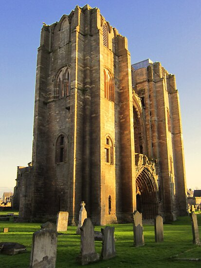elgin cathedral by dale54