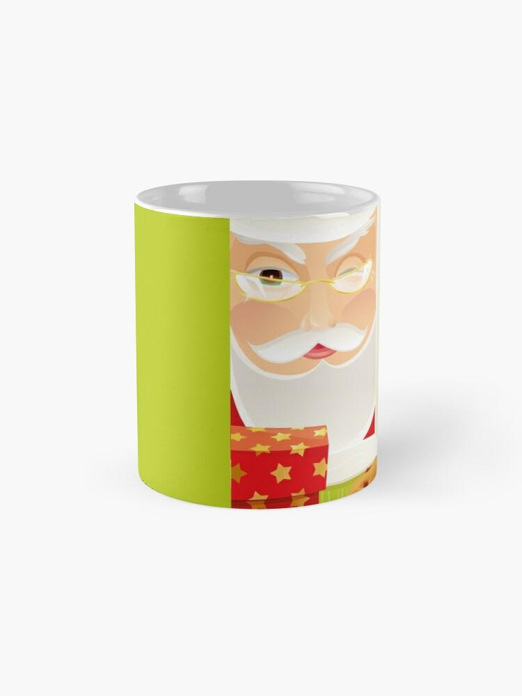 Alternate view of Santa!.. Mug