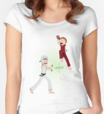 Rick Fighter 2 Women's Fitted Scoop T-Shirt