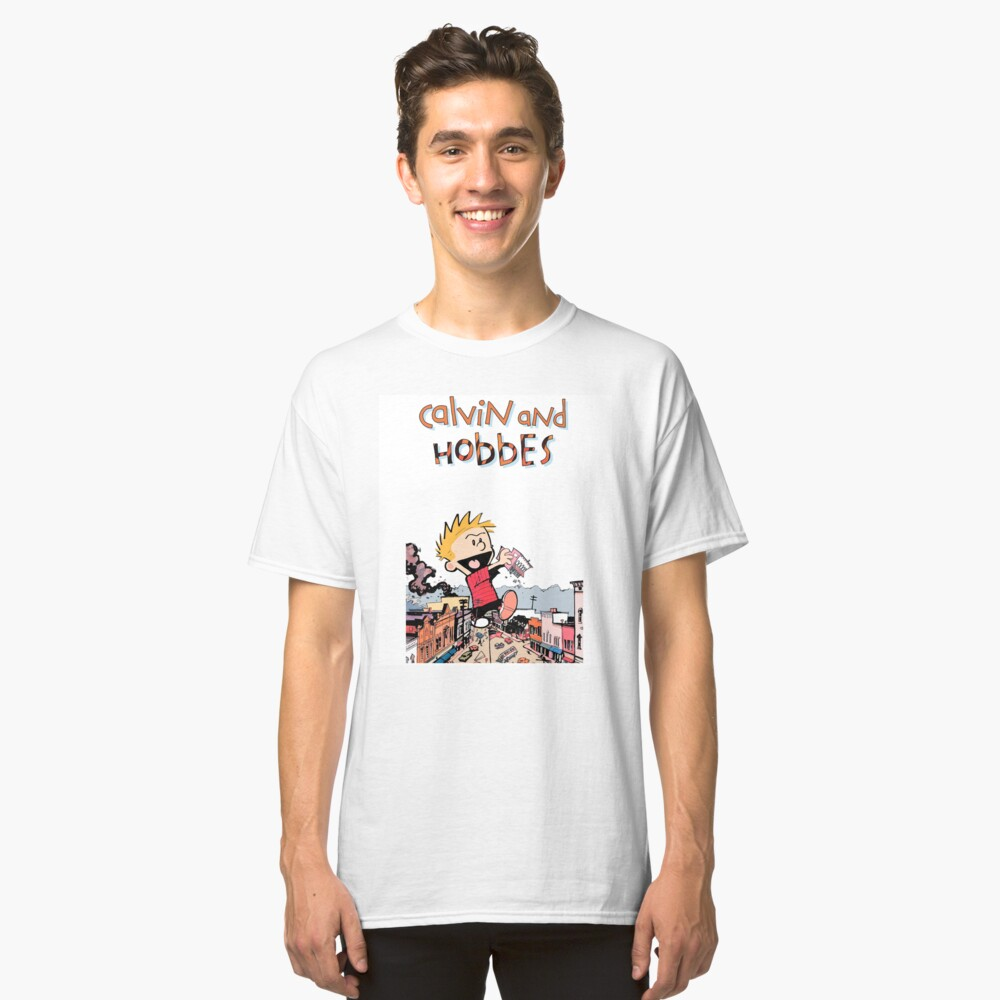 Calvin And Hobbes Classic T-Shirt Front