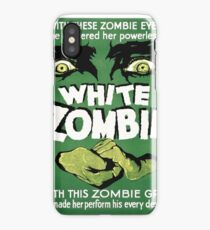 white zombie iPhone Case