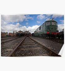 Didcot Railway Yard Poster