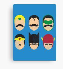 Mustache League of America Canvas Print