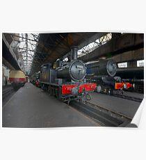 Steam Locomotives Poster