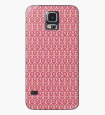 Baroque Red Wallpaper Hullen Skins Fur Samsung Galaxy Fur S9 S9