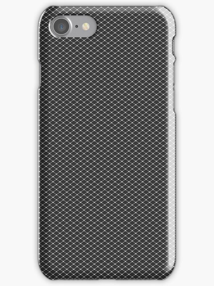 Silver Triangular Screen Pattern by pjwuebker