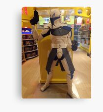 Lego Star Wars, FAO Schwarz Toy Store, New York City  Metal Print