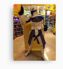 Lego Star Wars, FAO Schwarz Toy Store, New York City  Canvas Print