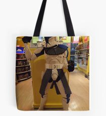 Lego Star Wars, FAO Schwarz Toy Store, New York City  Tote Bag