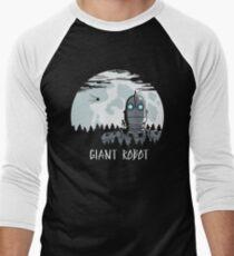 Giant Robot Men's Baseball ¾ T-Shirt