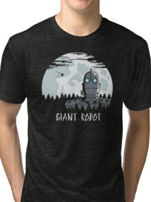 Giant Robot Tri-blend T-Shirt