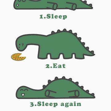 Sleep, Eat, Sleep by SamandFaz