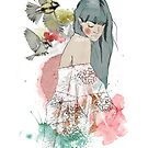 In the company of birds by MadeByLen