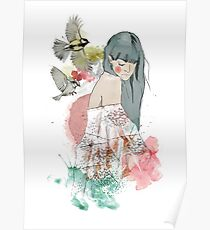 In the company of birds Poster