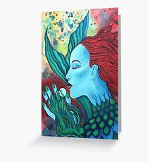 Caribbean Mermaid Greeting Card
