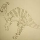Parasaurlophus by bluemagic