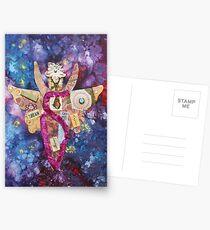 Inner Goddess Collage Postcards