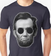 Abe Lincoln and Cheap Sunglasses T-Shirt