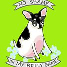 No Shame in My Belly Game by Rachele Cateyes
