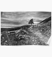 Lancashire - A View  Poster