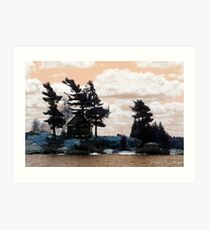 Thousand Islands Cottage Canada Art Print