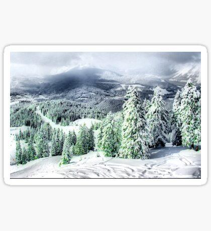 A Winters Dream Sticker