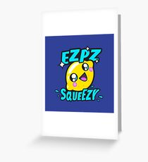 Ezpz Lemon Squeezy v2 Greeting Card