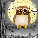 Happy Haunting Halloween Hoot by Concetta Kilmer