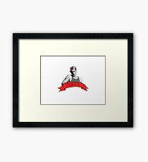 captain 'murica Framed Print