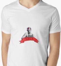 captain 'murica Men's V-Neck T-Shirt