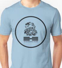 Snake System - Water Trigram - YSBKnox (Black) T-Shirt
