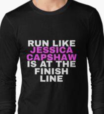 Run Like JCap Long Sleeve T-Shirt