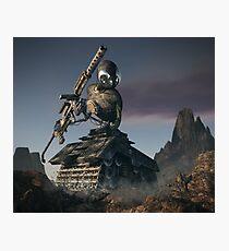 War Tank Robot Photographic Print