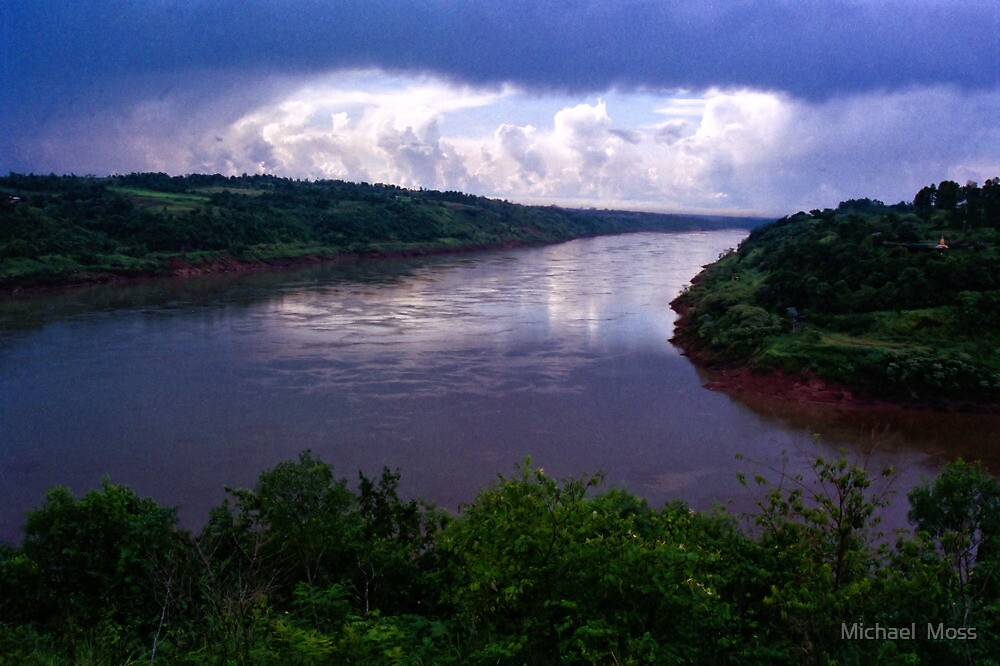 Iguazu River by Michael  Moss