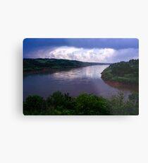 Iguazu River Metal Print